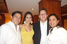 Danilo Vsquez, Jofrana Gonzlez, David Prez Hansen y Jenny Orpeza