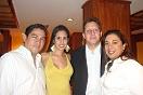 Danilo Vásquez, Jofrana González, David Pérez Hansen y Jenny Orpeza