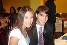 Mª Elena González y David Capella