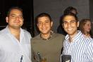 Julio Ochoa de Pernord Ricard, Jorge Romero de En Vivo y Víctor Lilué de Pernord Ricard
