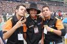 DJ Ronny, Jean Carlos y Abraham de FM 96.7 La Cucaracha Radio