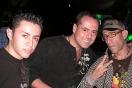 Los DJs Abraham Quijada, Ennio Vizconti y Jamming