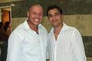 Chemade Galenos con su primo en el concierto de Jorge Celedón