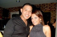 Jhonatan García y Angelin Portillo