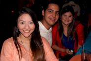 Maria Tancredi, Carlos Frannco y Maria Rincón