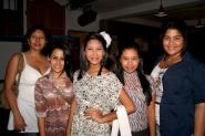 Judith, Valentina, María de los Ángeles, María Angélica y Andrea