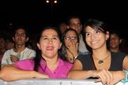Esperando el inicio del Festival Aragua 2012