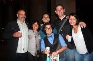 Reuben Morales y Alejandro con sus fans
