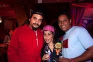 Luis, DJ Etnicaly y Cinthy Mar