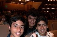 Carlos, Leonardo y Rogniel