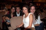 Aimee, Fernando, Daniela y Vanessa