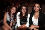 Mónica Gómez, Verónica Cassiani y María Añez
