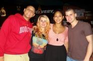 Tomás, Alejandra, Sandra y Alí