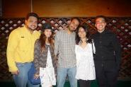 Adolfo, Andrea, Héctor, Valeshka y Arnold