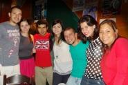 Luis, Natalia, Víctor, Maurelys, Francisco, Carla y Mariale
