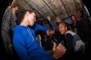 Bailando dancehall