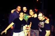 Los chicos de Lekter en el 2do aniversario Hispanorock