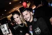 """Daniela Kosan en el estreno de """"Fuera del aire"""""""
